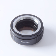Buy Focal Reducer Speed Booster Turbo Adapter M42 Mount Lens Sony NEX E Mount Camera NEX-7 NEX-6 NEX-5 NEX-3 NEX-VG20 for $68.62 in AliExpress store