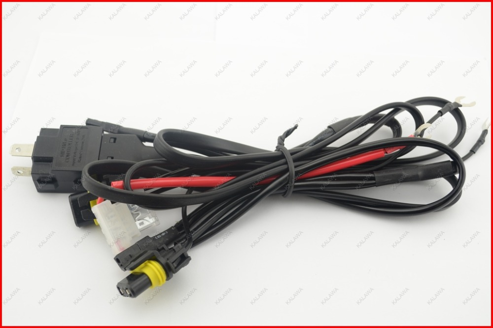 V w hid wiring harness controller