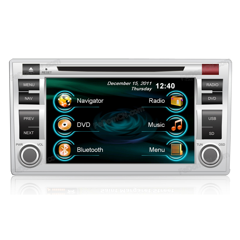 in dash gps for Hyundai New Santa fe with 6.2 inch touch screen(China (Mainland))