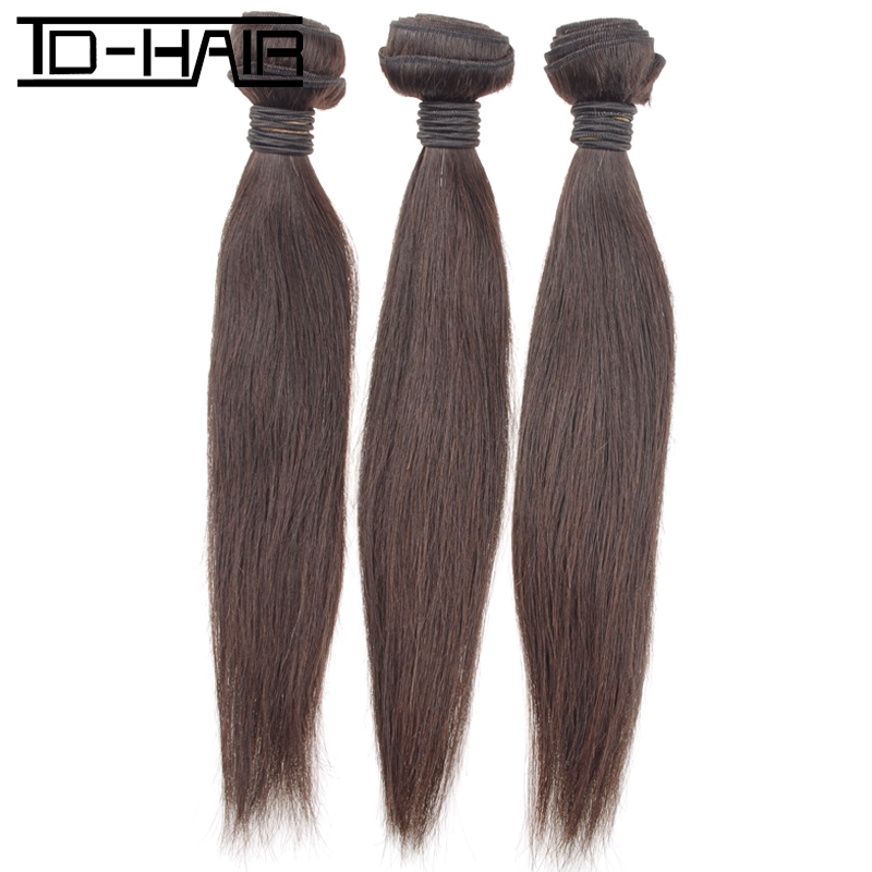 TD HAIR products, 3pcs lot cheap price virgin Mongolian natural color human hair extensions machine weft Straight weaving hair<br><br>Aliexpress