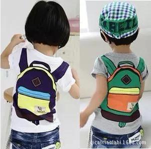 3-8Y Children's T shirt boys Tees Baby Clothing baby boy Summer t-shirt short sleeves schoolbag Designer t shirts kids clothes(China (Mainland))