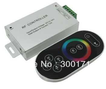 LED Controller Wireless Touch  RGB Controller  RGB  LED light bar module controller RF controller