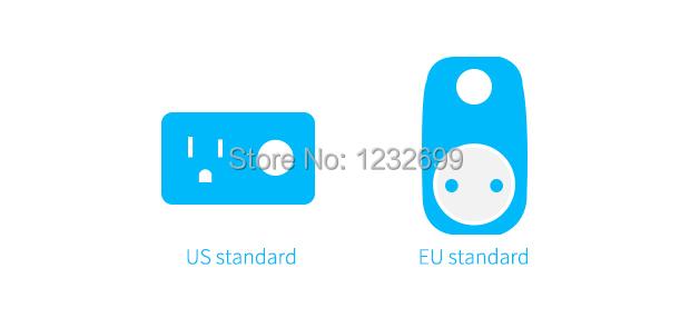 image for Broadlink SP3 EU SP Mini/Contros Smart Wireless WiFi Socket 16A 2200w