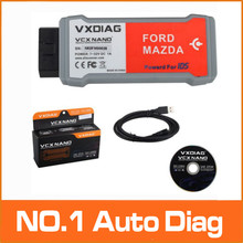 100% High Quality VXDIAG VCX NANO for Ford/Mazda 2 in 1 with IDS V97 Better Than VCM II FOR FORD Free Shipping(China (Mainland))