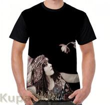 Забавная футболка с графическим принтом, мужские топы, футболки, Theda Bara Cleopatra, женская футболка с цветочным принтом, повседневные футболки с ...(China)