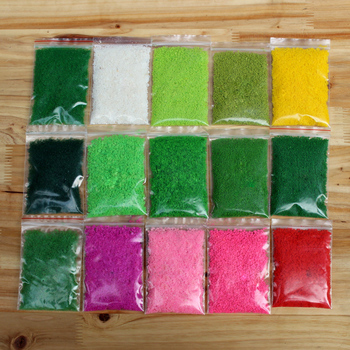 Artificial Powder made Mini Tree Snow Micro Landscaping Decoration Plastic Craft DIY Sand Table DIY Accessories