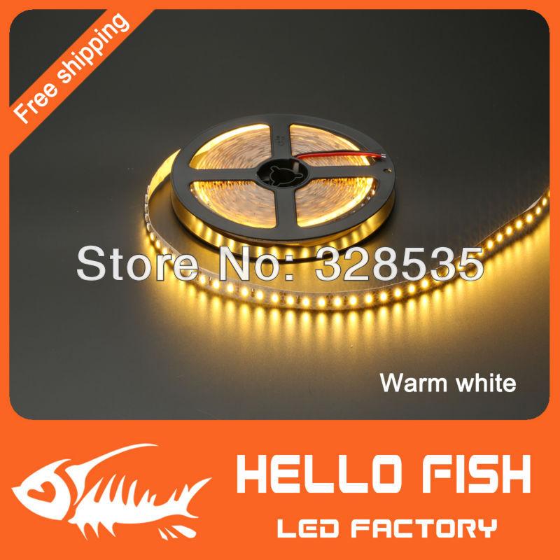 5m 600 LED 3528 SMD 12V flexible light 120 led/m,LED strip, white/warm white/blue/green/red/yellow(China (Mainland))