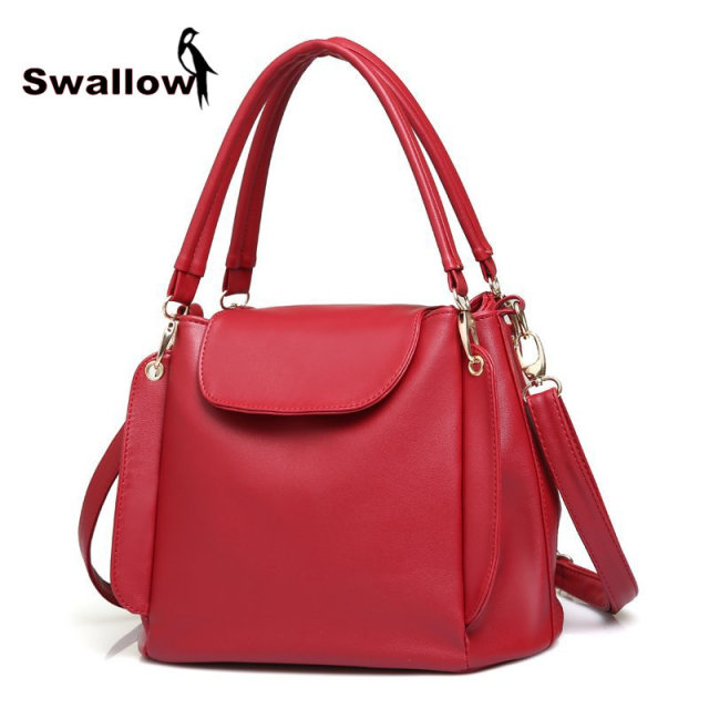 7 Colors Leisure Spring And Summer Fashion Bucket Shoulder Bags Ladies Famous Brand Luxury Women Handbag Leather High Quality