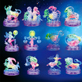Upgraded Crystal 12 Horoscope 3D DIY Puzzle Flash Light Scorpio Leo Assemble Toys for Children Friends