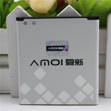 100% Original Amoi NO.14 2050mAh Battery For imo S89 & For Amoi N818 N820 N821 N828 N850 N828T Big V Battery Batterie Bateria(China (Mainland))