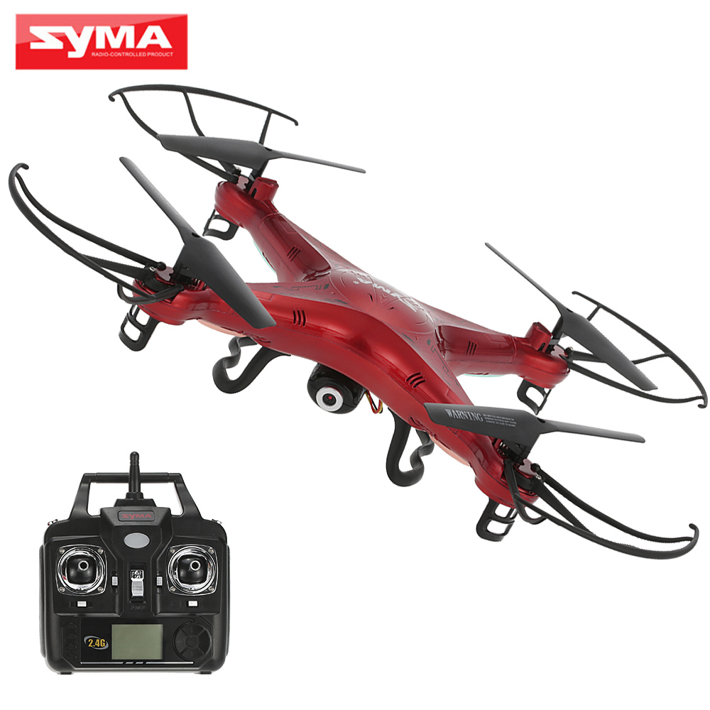 SYMA X5C 2MP HD Camera Drone FPV Helicopter 2.4GHz 4CH 6Axis Gyro RC Quadcopter with 2GB TF Card Syma Remote Control Toys(China (Mainland))