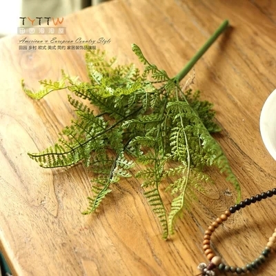 Wholesale Short Persian artificial flowers simulation grass fern leaf(China (Mainland))