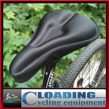 Unisex Road Cycling Bicycle Soft Silicone Pad Bike Saddle Gel Cushion Seat Cover Padded Comfortable Waterproof High Quality(China (Mainland))