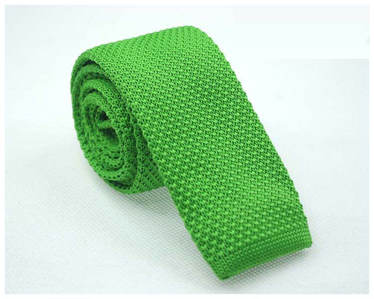 knitted Ties neck Tie Men's necktie Solid Polyester wool high quality M16(China (Mainland))