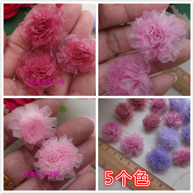2015 New Rhinestones C104 Bean Paste Pink Purple Handmade Diy Clothes Patch Decoration Hair Accessory Fabric Accessories 1.2 5(China (Mainland))