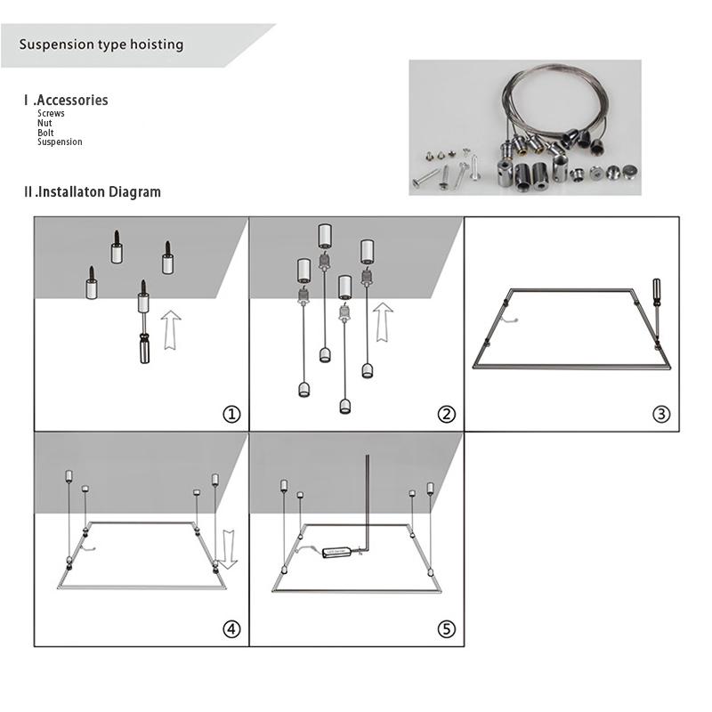 Suspension type hoisting