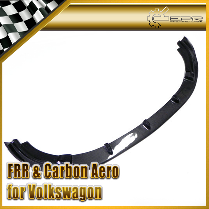 Car Styling For Volkswagen VW Golf MK6 GTI H2-Style Carbon Fiber Front Lip<br><br>Aliexpress