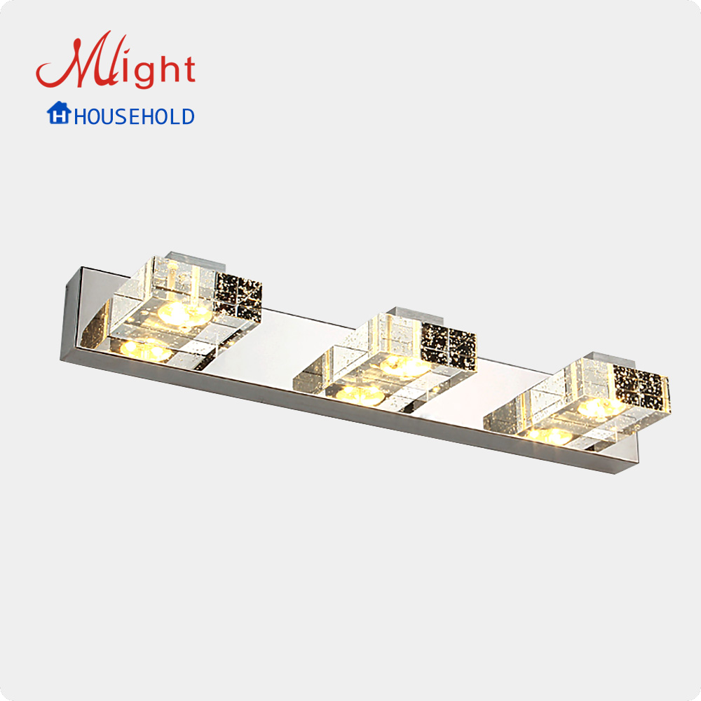 Фотография 85-260V 9W LED Mirror Front Lamp Modern Luxury LED Wall Light High Quality Lighting Light Free shipping