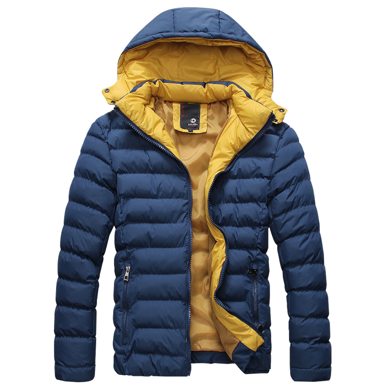 2015 New Arrival Fashion Men s Winter Clothes Cotton Jacket Slim Male Thickening casual European style