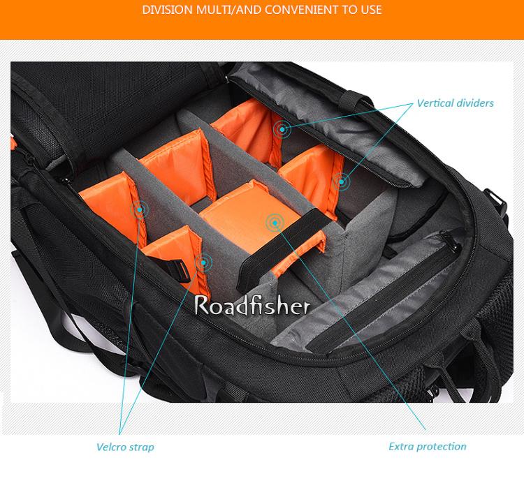 Camera backpack bag 5