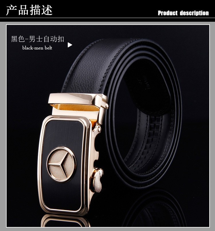2015 NEW  leather belt Automatic buckle belts Mens high-end business and leisure belt   Free shippingОдежда и ак�е��уары<br><br><br>Aliexpress