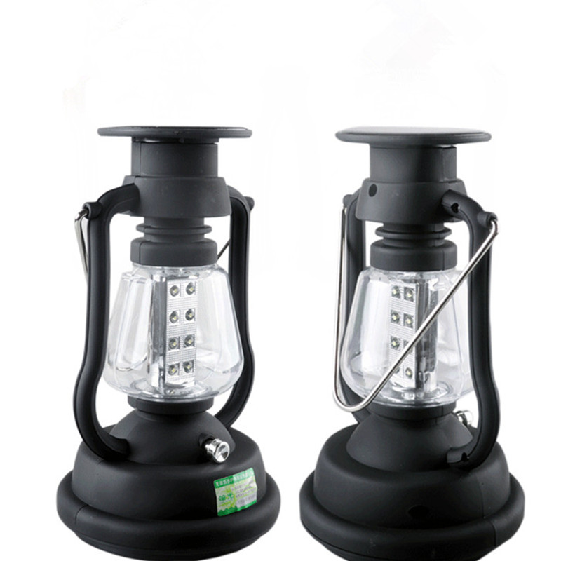 New outdoor multifunctional camp lamp LED charge camping and charging tent light hand vintage abs lantern<br><br>Aliexpress