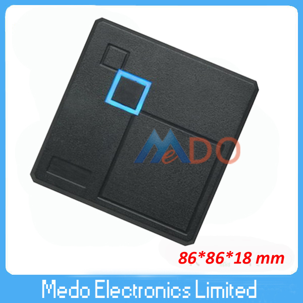 10PCS Waterproof 125Khz Slim Id Card Reader wiegand 26 wiegand reader for access control  MR08D<br><br>Aliexpress