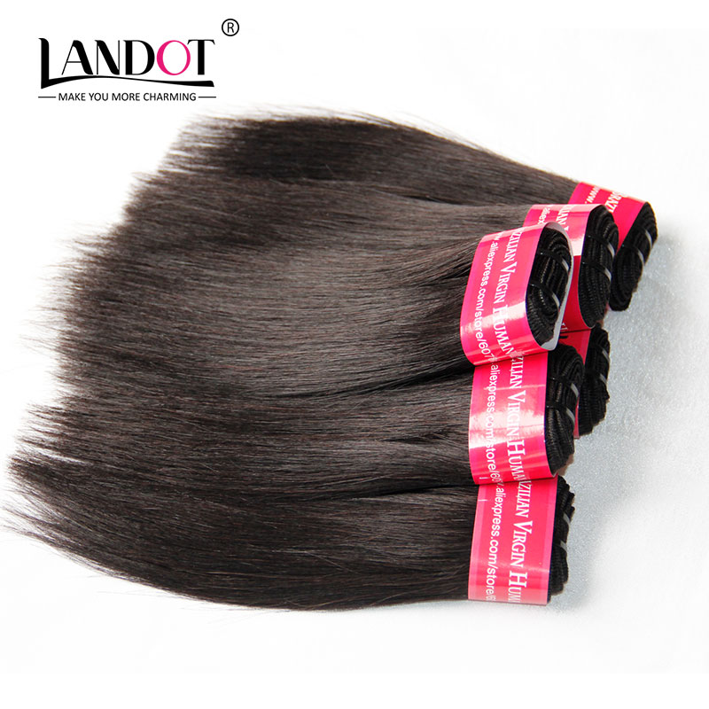 Cheap 6A Brazilian Virgin Hair Straight 6pc/Lot 8inch 300g Brazilian Hair Weave Bundles Natural Color Short Human Hair Extension(China (Mainland))