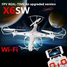 2016 NEW X6sw RC Helicopter drone quadcopter professional drones With C4005 Wifi Fpv Camera (syma x5sw upgrated version)