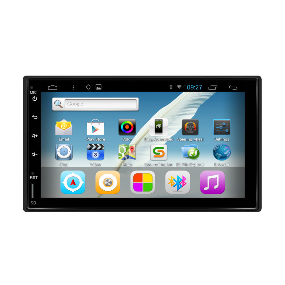 Universal Full touch 7 inch 2 Din Android 4.4 Capacitive Screen 1080P No Disc Navigation Car DVD palyer(China (Mainland))