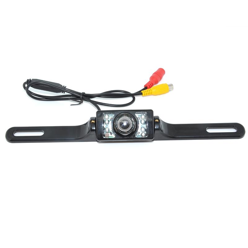 Universal 8 LED Auto Parking HD CCD Car Rear View Camera Reverse backup Camera rearview parking Camera Free Shipping(China (Mainland))