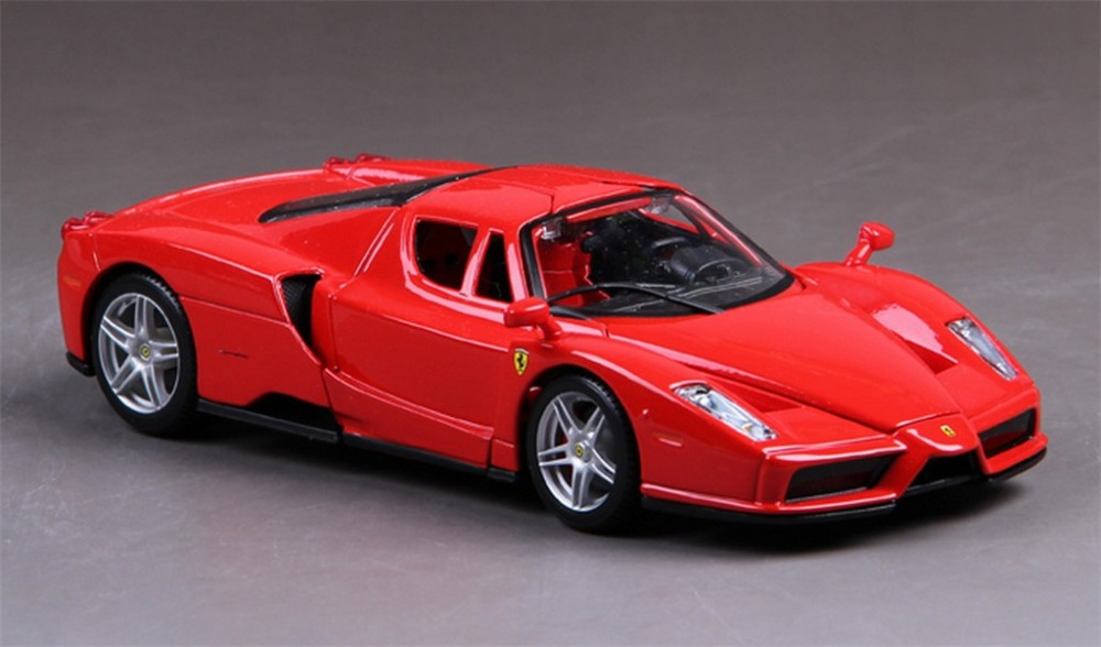 Maisto 1:24 ENZO Diecast Assembly Model Car Vehicle Toy Red New in Box(China (Mainland))