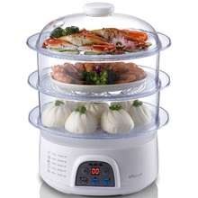 650W 8L large capacity Triple Electric Food Steamers(China (Mainland))