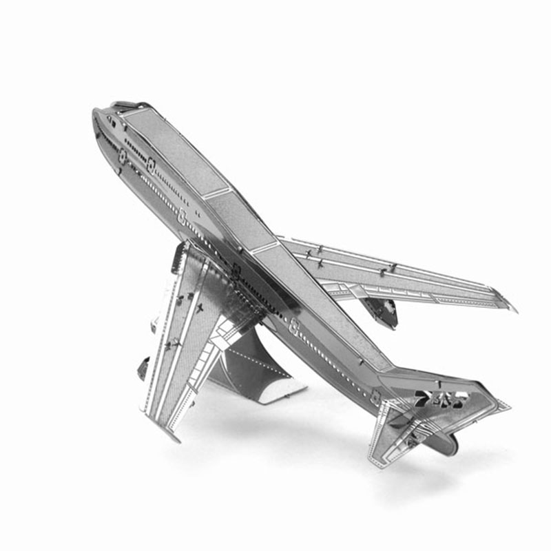 3D Puzzle Metal DIY Boeing 747 Airliner Military Airplane Aircraft Model Leisure Jigsaws Adult Children's Favorite Gift Toys(China (Mainland))