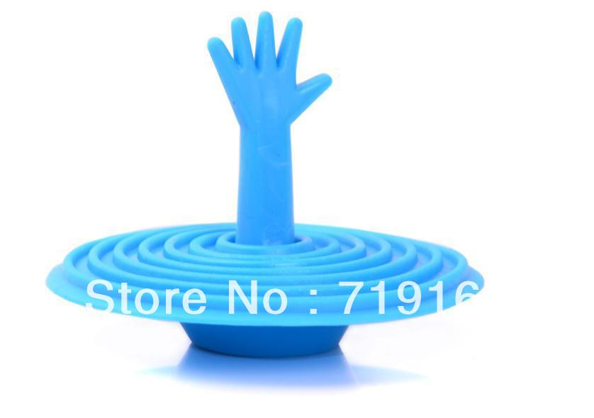 Гаджет  Creative washroom  bathroom accessories basin help hand shape sink plug water plug rubber sink stopper 10pcs free dropping   None Строительство и Недвижимость