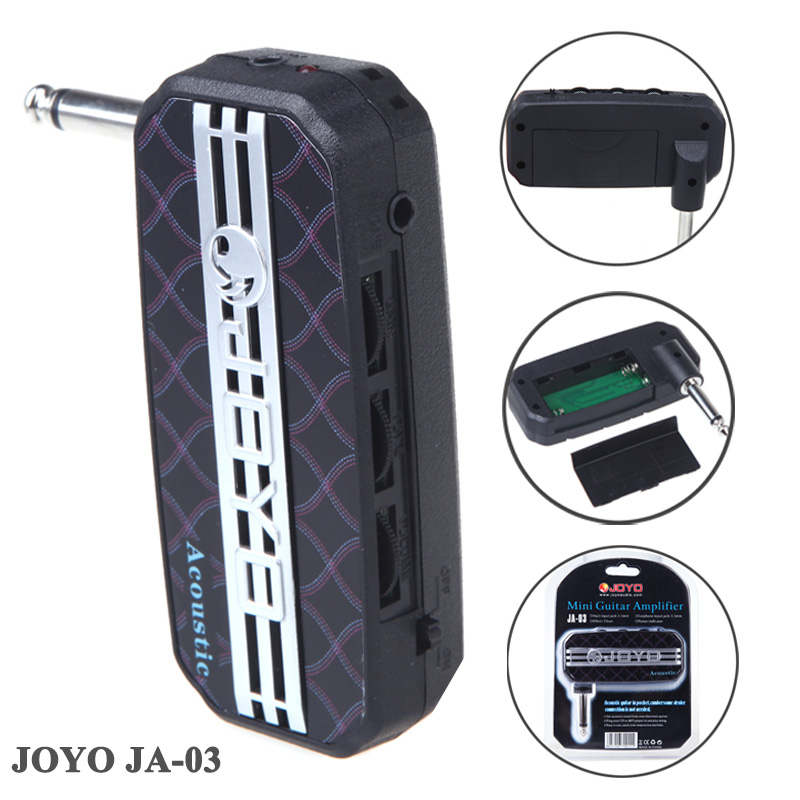 JOYO JA-03 Acoustic Sound Mini Guitar Amp Pocket Amplifier Micro Headphone 3.5mm Jack Top Quality<br><br>Aliexpress