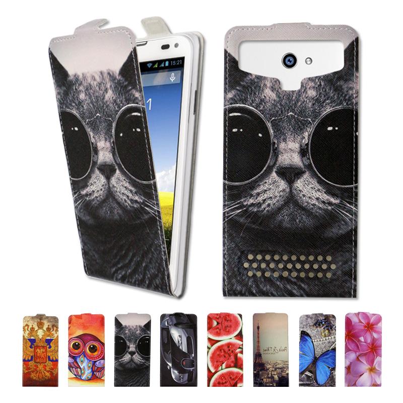 Luxury high-grade printed cartoon universal flip leather phone case Prestigio Muze K5,free gift,SX02