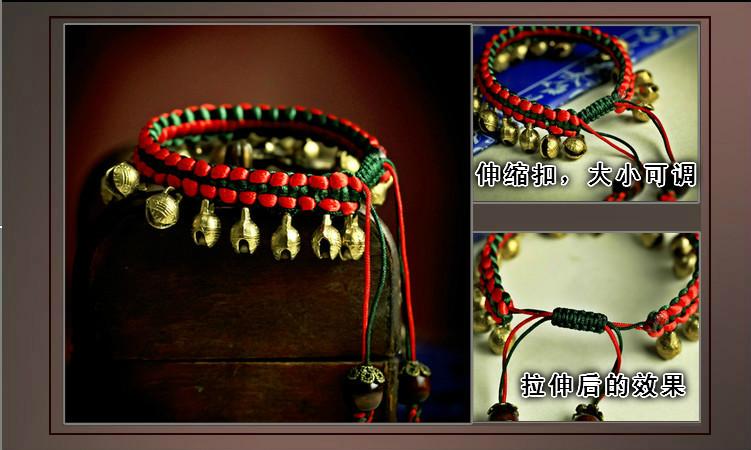 Первый год судьба зло Красная Строка Браслет Ювелирных Изделий будуар старинные ювелирные изделия ювелирные изделия Браслеты народном стиле женский