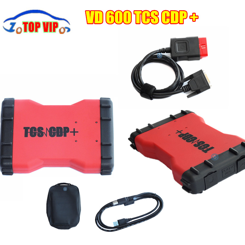 5 pcs 2016 New arrival VD600 no Bluetooth TCS CDP+ 2014.3 version Multi-language CDP for cars & trucks 3in1 DHL free shipping(China (Mainland))