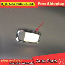 Buy car styling Nissan Murano 2015-2016 model high chrome Rear reading lamp decorative frame abs cover trim 2 pcs for $12.68 in AliExpress store