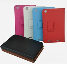 """Buy New Luxury 2-Folding Folio Stand Holder Leather Skin Case Protective Cover Lenovo IdeaTab LePad A3000 A3000-H 7"""" 7 inch for $6.79 in AliExpress store"""