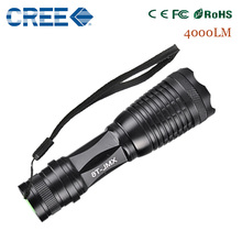 zk35 CREE XM-L T6 4000LM lumens NEW Arrivals e17 high power led torch T6 lantern zoomable Waterproof flashlight(China (Mainland))