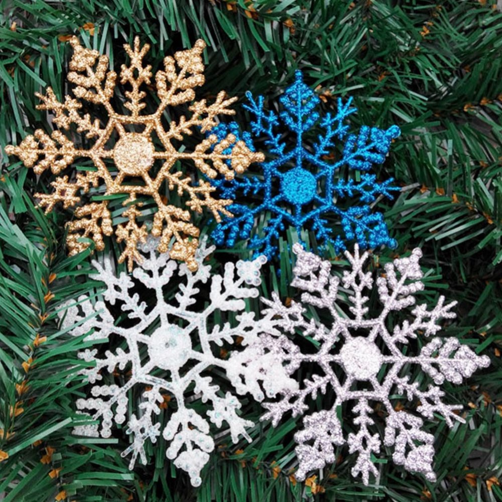 Online Buy Wholesale Christmas Ceiling Hanging Decorations: Online Buy Wholesale Glitter Snowflake Ornaments From