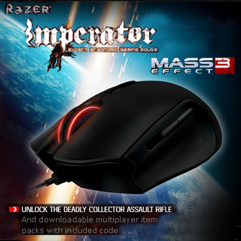 4G Razer Imperator, Mass Effect 3 Edition,Original & Brand NEW in Box, Gaming Mouse, Free & Fast Shipping