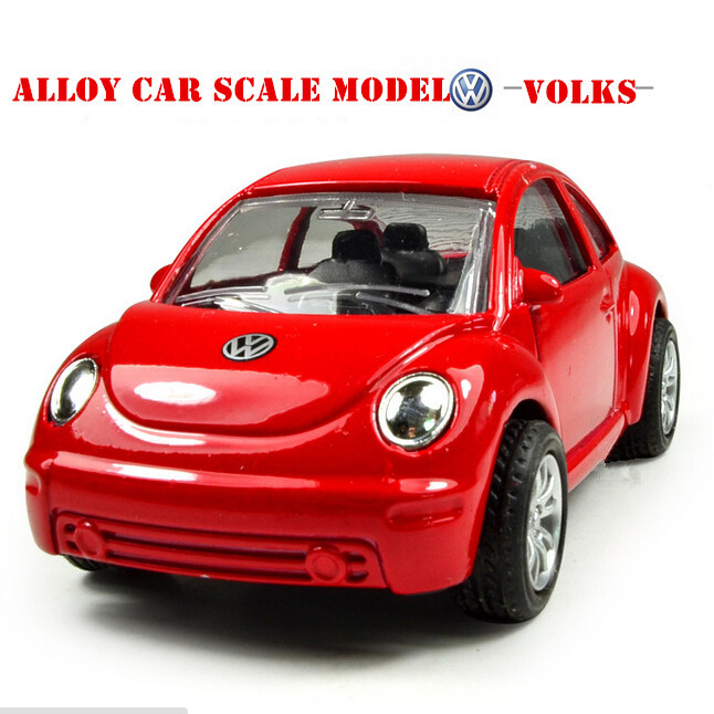 Car Styling Scale Models Volkswagen Beetle Kids Baby Toys for Children Pull Back Brinquedos Juguetes 2015 New Special Offer(China (Mainland))