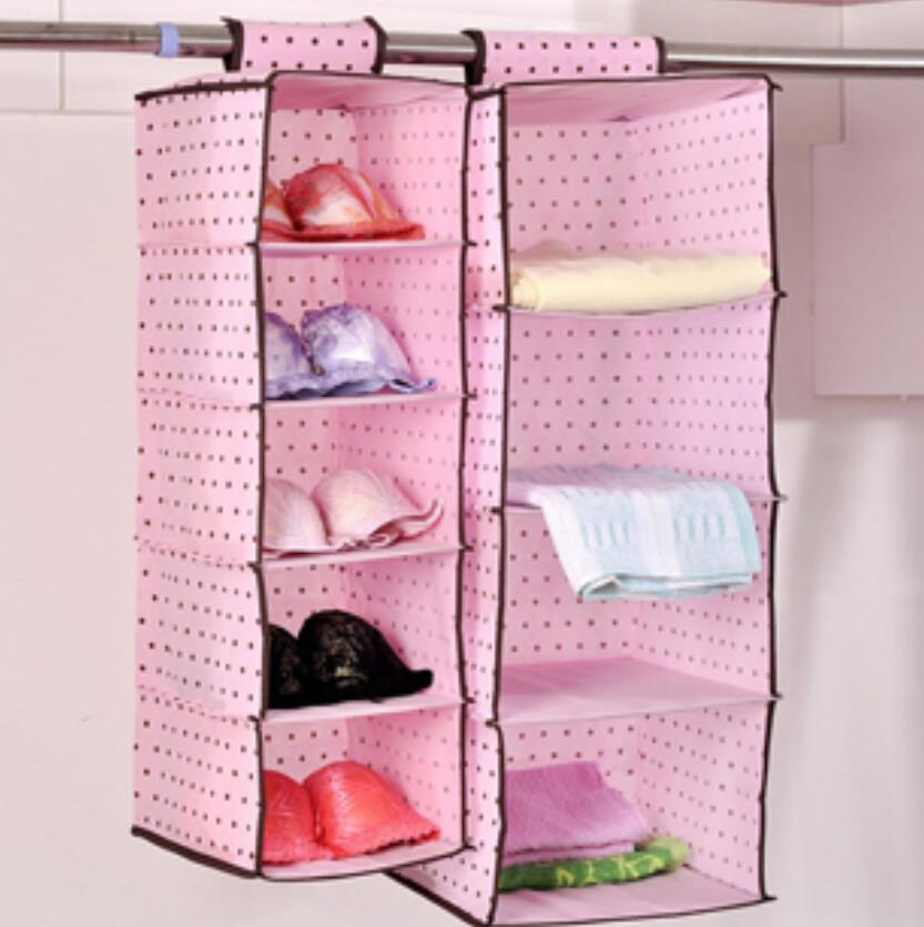 Подвесной шкаф из ткани