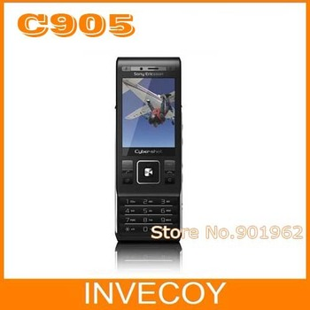 C905 Original Unlocked Sony Ericsson C905 Cell Phone with 8MP GPS WIFI 3G GSM black color freeship