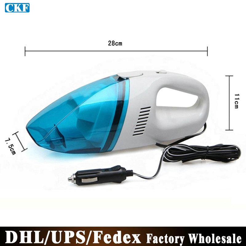 DHL/Fedex/UPS 20pcs/lot T004 Mini Portable Wet Dry Handheld Car Vacuum Cleaner(China (Mainland))