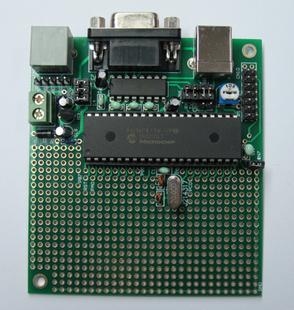Mcu pic gelin electronic simple type experimental board pic40 40 development board