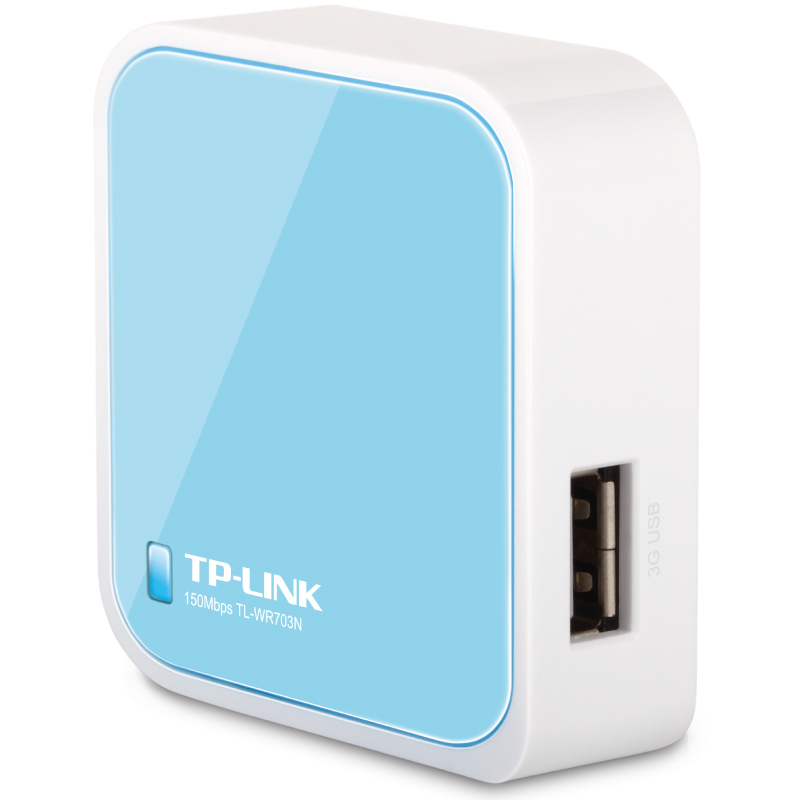 Portable Mini Wireless Wifi 3G Router TP LINK WR703N Router TL-WR703N Transmission Rate150M(China (Mainland))